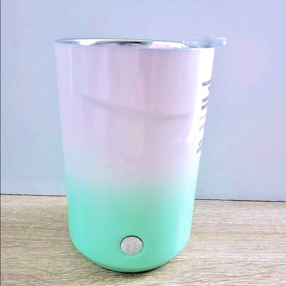 💗New Starbucks Pink&Green Easter insulated cup💚